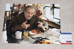 Actor Jack Nicholson Signed And039the Departedand039 11x14 Photo Psa Dna Coa