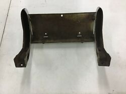 Corvette 1958-1962 Used Front License Plate- Bumperette Assembly