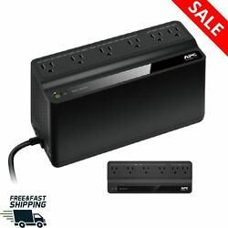 Ups Battery Backup Portable Charging Wifi Routers Power Protection 6 Outlet