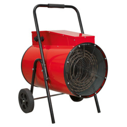 Industrial Fan Heater 30kw 415v 3ph 2 Settings For Workshops And Garages