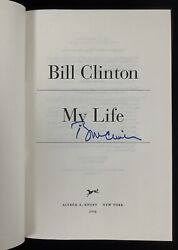 Bill Clinton Signed Book My Life Hardcover 1st Edition President Autograph Jsa 2