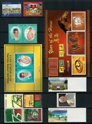 Rp14 Philippines - 2014 Complete Year Stamp Sets With Souvenir Sheets. Muh
