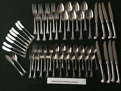 Elegant 56 Pcs Oxh 62 Serves 8 By Oxford Hall Stainless Extra Teaspoons No Sandh