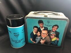 Vintage Drew Carey Show Metal Lunchbox And Thermos Tv Show Promotion Limited Afc