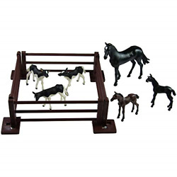 Britains 132 Baby Animal Farm Playset, Collectable Farmyard Animal Toys For Toy