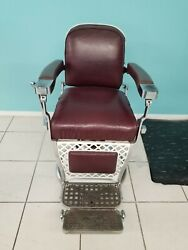 Emil J Paidar Chicago Antique Vintage Barber Chair Local Pick Up Only👈🔥🔥🔥