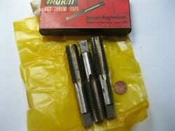 1 -set 3 7/8 Bsw Taps. Made In Uk By J Hughes. England. New And Boxed Whitworth