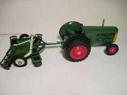 Oliver Farm Toy Tractor 99 With Custom Disc Scale Models/ertl 1/16