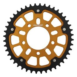 New Supersprox Stealth Sprocket, 44t For Marvic 530 Pitch 5 Bolts 00, Gold