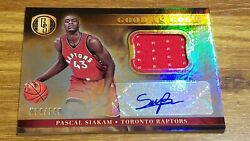 Pascal Siakam 2016-17 Gold Standard Good As Gold Jersey Rookie Auto 16 74/149