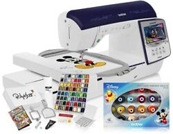 Brother Innov-andiacutes Nq3600d Sewing + Disney Embroidery Machine W/grand Slam Package