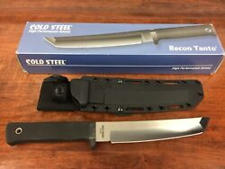 Cold Steel 13rtlts - Recon Tanto Aus 8a Serial Number 003 Discontinued Model
