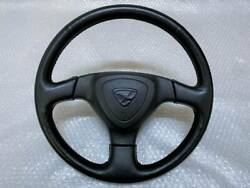 New Car Removed Mazda Genuine Leather Steering Wheel Rx-7 Fd3s