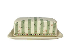 Pfaltzgraff Naturewood Covered Butter Dish Ceramic Replacement Birdhouse