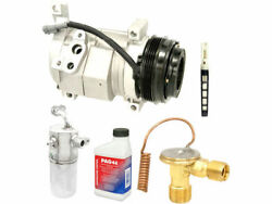 Front And Rear A/c Compressor Kit For 2003-2006 Gmc Yukon Xl 2500 2004 C645ch