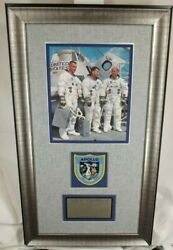 Apollo 10 Crew Signed Nasa Wss Lithograph Framed Display Authenticated And039and039rareand039and039