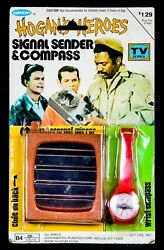 Hogans Heroes -signal Sender And Compass- Vintage 1977 Harmony Toy Watch, Sealed