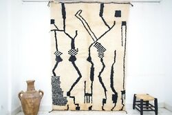 The High Quality And 100 Wool Of The Beni Ourain Rug