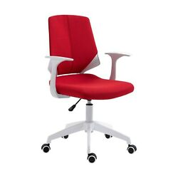 Techni Mobili Mid Back Task Chair With Two Tone Caster Wheels And Hight Adjustment