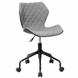 Techni Mobili Deluxe Modern Office Chair With Caster Wheels And Hight Adjustment