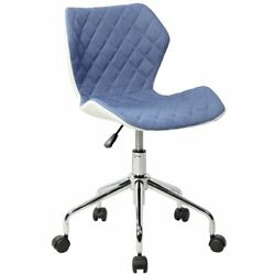 Techni Mobili Modern Office Task Chair With Caster Wheels And Hight Adjustment
