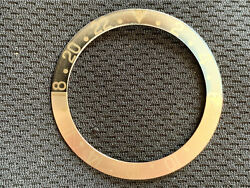 Rolex 1675 Gmt Pepsi Faded Fat Font Insert Red Back 1675 / 16750