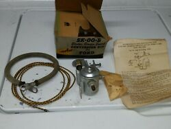1936 And Back Ford Car Truck Illaco Electric Starter Switch Sk-00-b Rare New Old