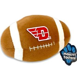 Dayton Flyers Football Emblem Plush Fan Toy Ncaa Ohio By Mascot Factory Nwt 7