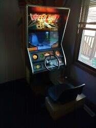Chicago Coin Arcade Speed Shift Driving Game Indy Car Cart Man Cave Car Hot Rod
