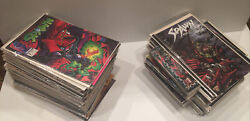 Lot Of 122 Spawn Comic Books - Original Spawn Plus Spin Offs Read Once By Adult