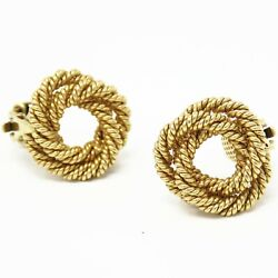 Nyjewel And Co. Vintage 14k Yellow Gold Clip On Earrings