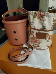 Coach Drawstring Bucket Bag With Grommets Nwt 395
