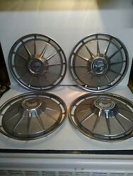 1960 Thru 1964 Chevy Corvair Hubcaps, Very Nice Condition,