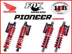 Honda Oem Fox Qs3 Shocks Front And Rear For 2016-2021 Pioneer 1000 5p