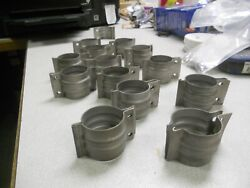 Continental Exhaust Clamps C-85c90o-200o-300 As Removed Good Condition
