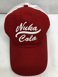 Fallout 2 3 4 76 Nuka Cola World Trucker Hat Baseball Snapback Cap Bethesda New
