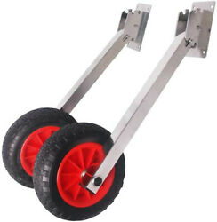 Easy Load Boat Launching Wheels Set For Inflatable Boat And Aluminum Boat