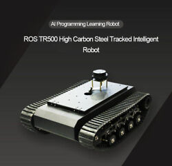 Ros Tr500 Robot Tank Chassis Tracked Vehicle Max Load 20kg Suspension System Tzt