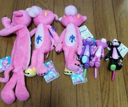 Shipped In Japan Chuck's X Pink Panther Goods Mascot Plush Toy Set