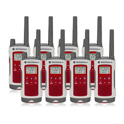 Motorola Talkabout T480 22-ch 7-noaa Alert Stations Frs And Gmrs 2-way Radio-8pk