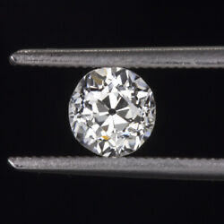 Gia Certified Old European Cut Diamond I Si1 .59ct Vintage Antique Loose Natural