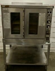 Hobart Commercial Convection Oven W/ Stand. Model Cn90. Full Size. Excellent