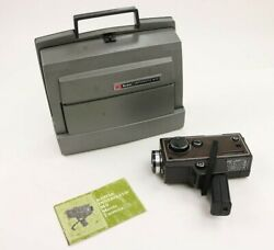 Vintage Kodak Instamatic M 95 Movie Projector And M 9 Film Camera Super 8mm As Is