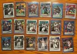 2020 Donruss Optic Rated Rookie Prizm Cards Purple Shock Holo Silver You Pick