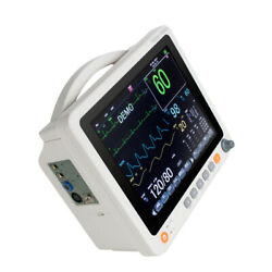 12.1''portable Tft Lcd Patient Monitor Vital Icu Signs Fda Ce Ccu Touch Screen