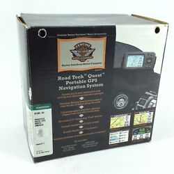 New Genuine Harley Road Tech Quest Gps Navigation System Usa Touring 92106-05