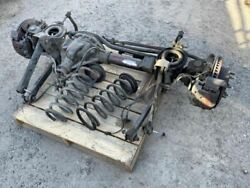 Used 05 Ram 2500/3500 4.10 Front Axle Assembly Complete Shipped 201k 294229423