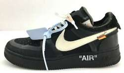 Nike Air Force 1 Low Off-white Ao4606-001 Menand039s Us9 Unworn Mint