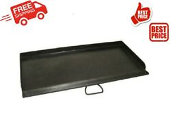 Chef Griddle For 2 Burner Grill Stove Outdoor Cooking Camping Cookware