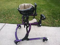 Rifton Gait Trainer Pacer 501 Pediatric Small Child Swivel Walker Made In Usa